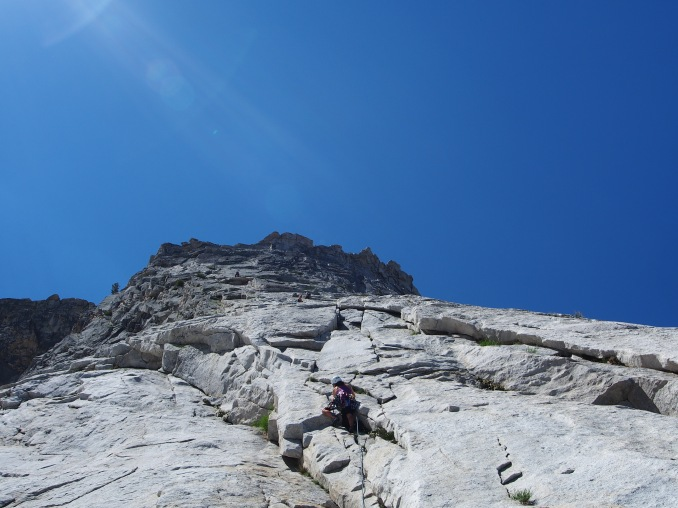 One of the earlier pitches that we roped up for; probably the 5th or 6th pitch in the guidebook.