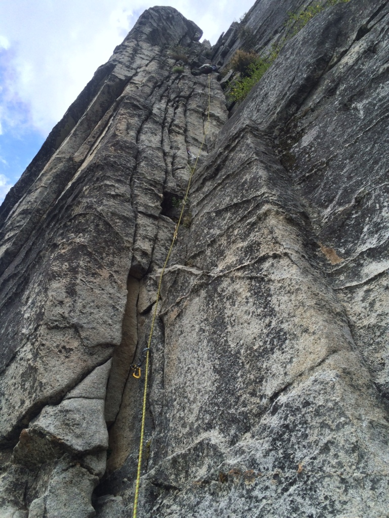 Sara leading the first pitch of East Wall.