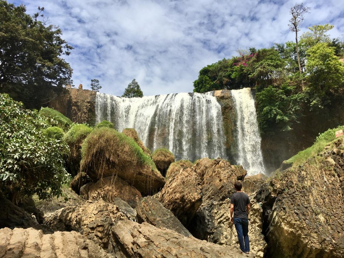 Elephant waterfalls Dalat