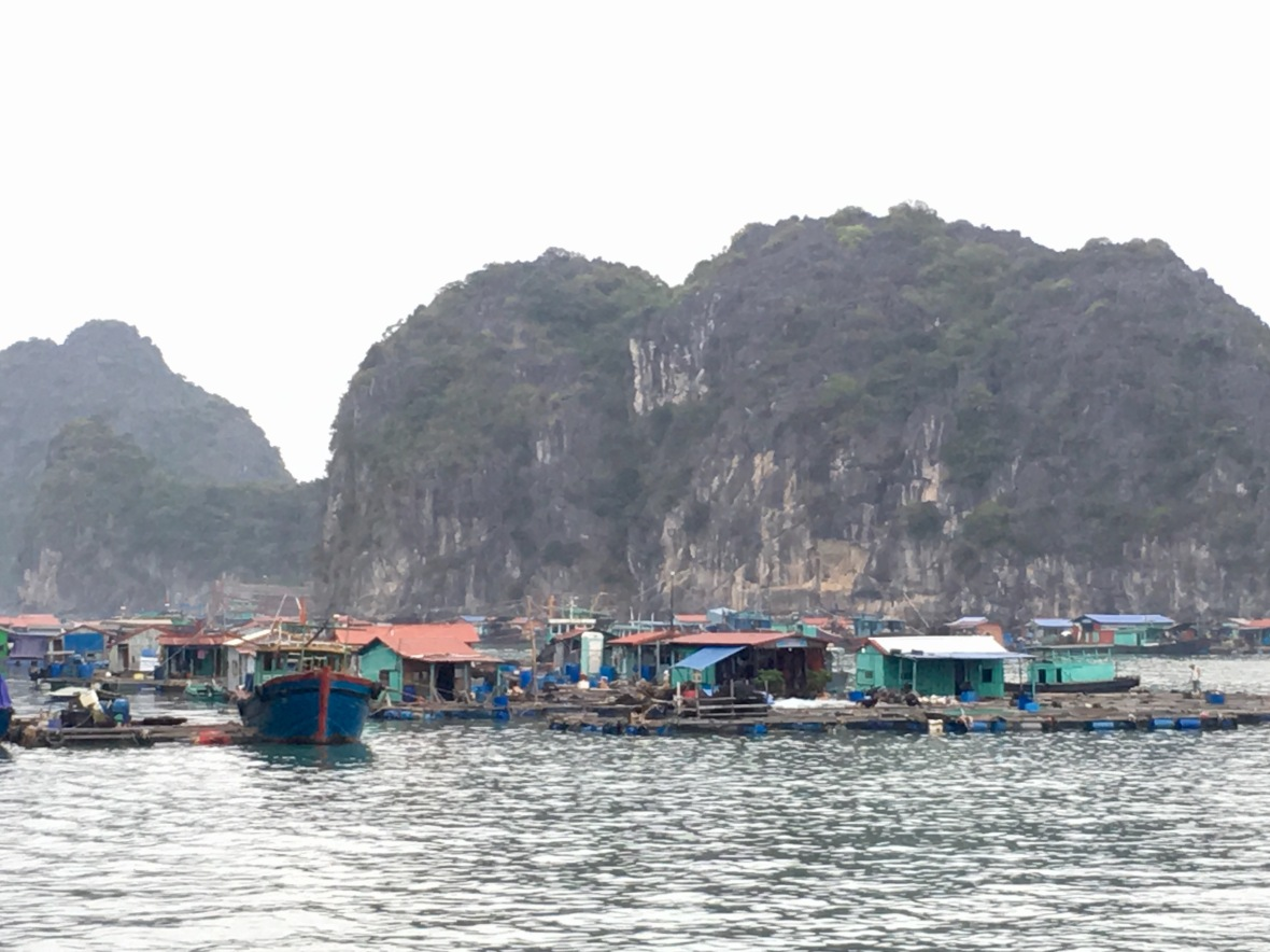 Ha Long floating town