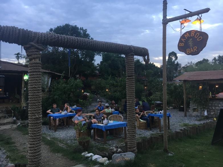Pokhara has a great lakeside bar scene