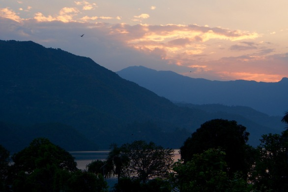 Phewa Lake sunset