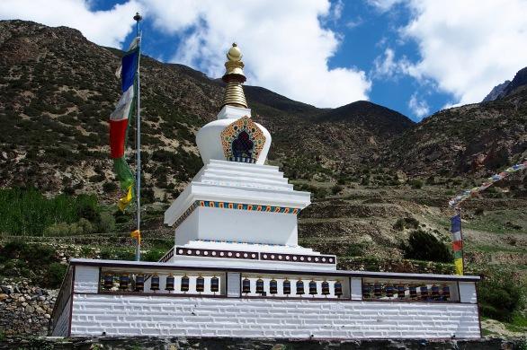 Brand new stupa