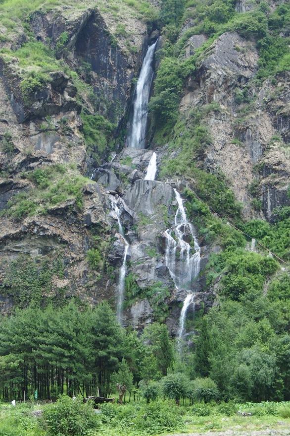 Waterfalls were literally around every corner