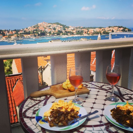 Dubrovnik breakfast