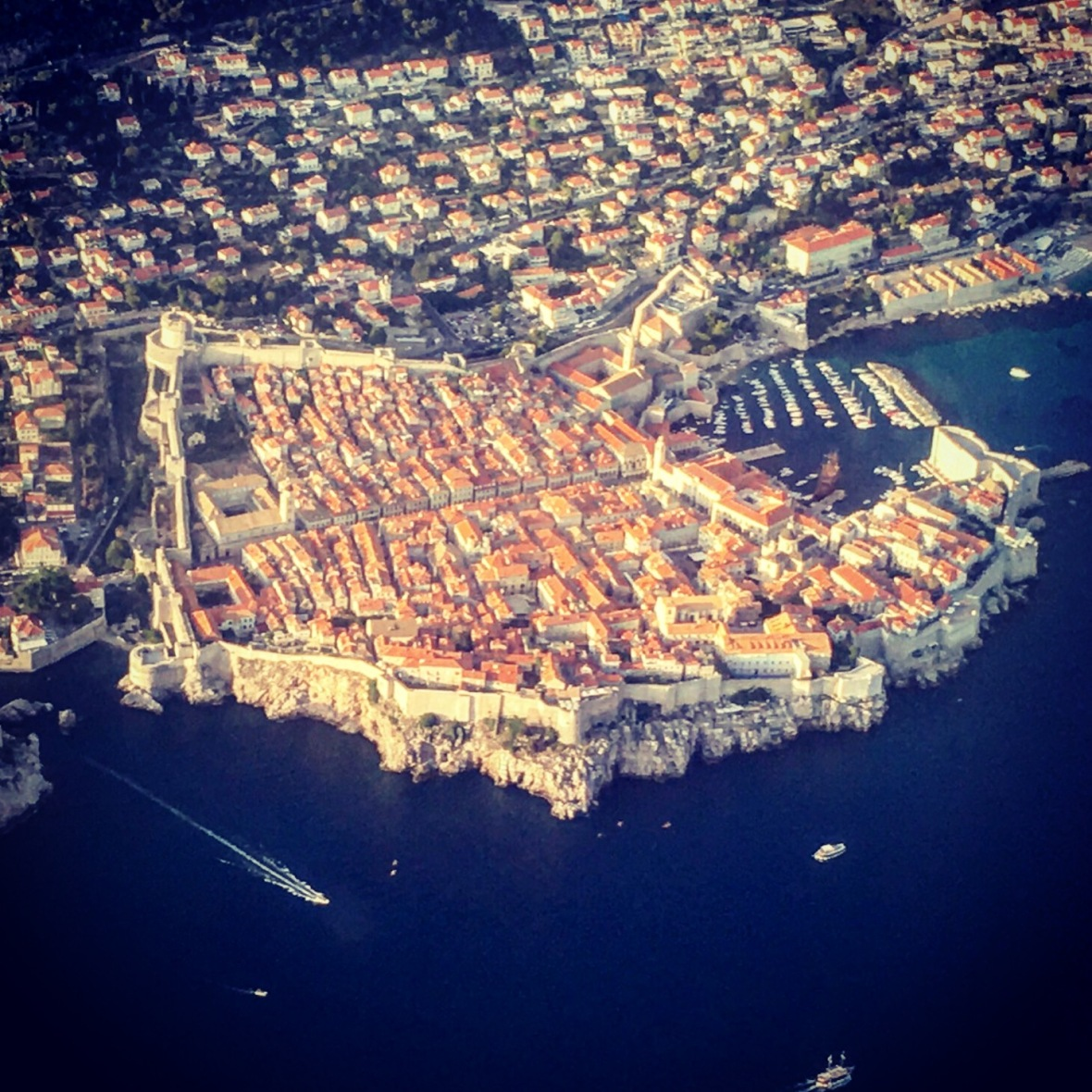 Dubrovnik sky view