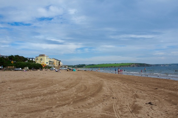 Duncannon's sandy beach