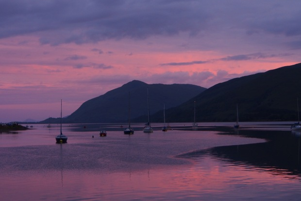 Fort William sunset
