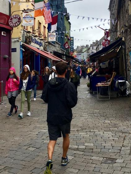 Galway sightseeing jog