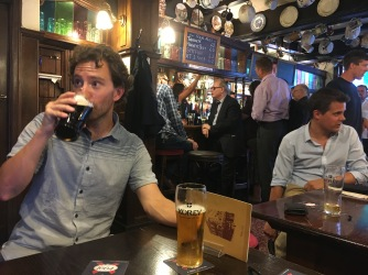 When in London, go to all the pubs
