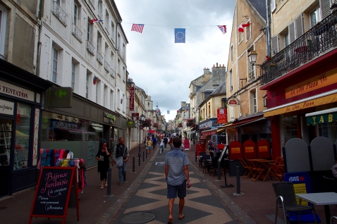 Downtown Bayeux