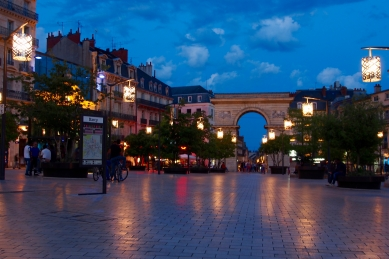 Evening light in Dijon