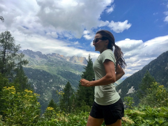 Trail run in Chamonix to Mer de Glace? Yes please!