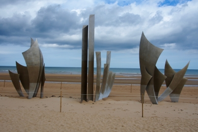 Omaha Beach D-Day Memorial