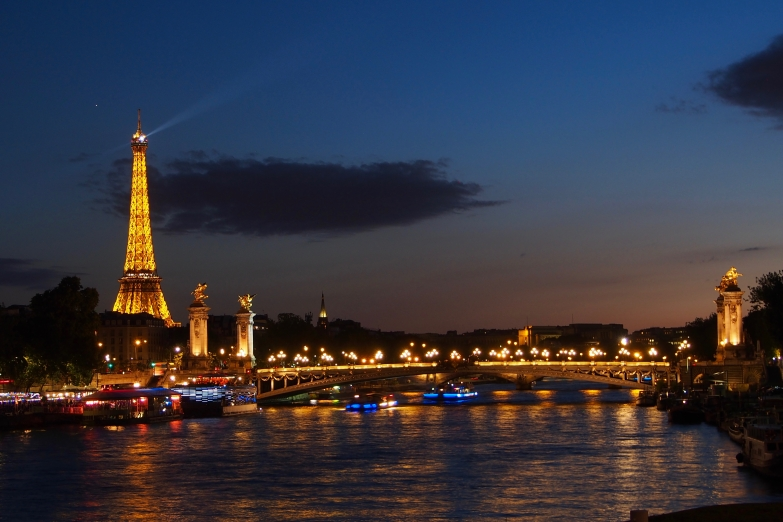 Paris - the city of light and love