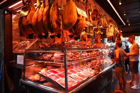Of course, ham hocks and cured meats abound in Barcelona