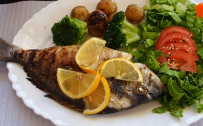Lisbon has plenty of great restaurants, including a lot of seafood - this grilled fish was one of our favorite meals