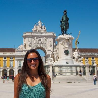 Lisbon's main square