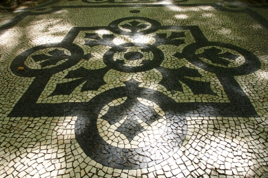 Every street, sidewalk, and most buildings in Lisbon are beautifully decorated in tiles