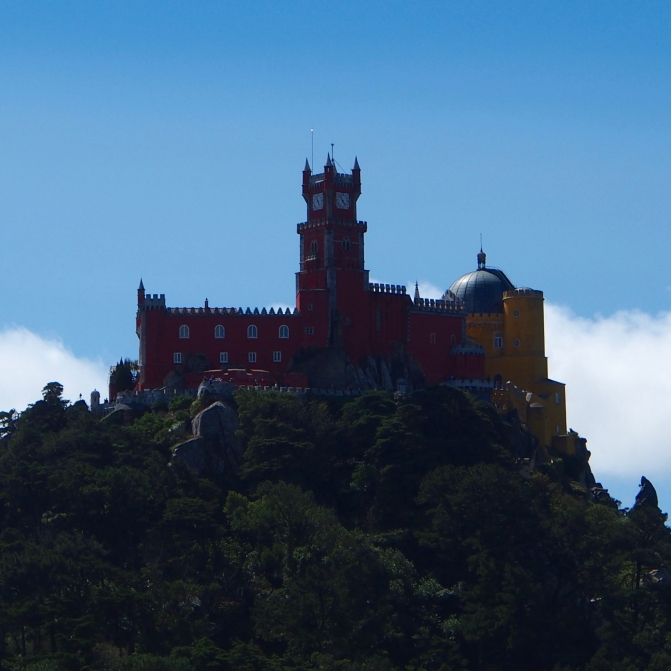The flamboyant Pena Palace, the star of Sintra