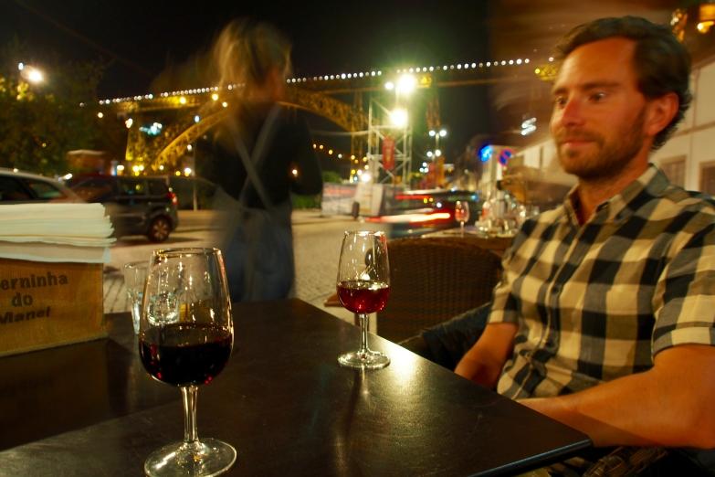 Port tasting in Porto