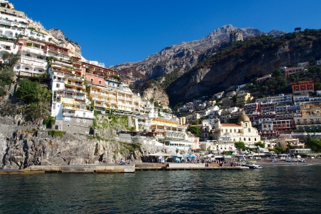 The ferry from Solerno to Capri should had been billed as a water tour of the Amalfi Coast
