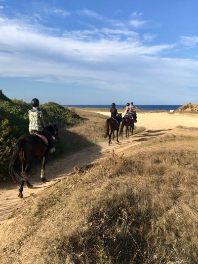 Riding the coast near Otranto