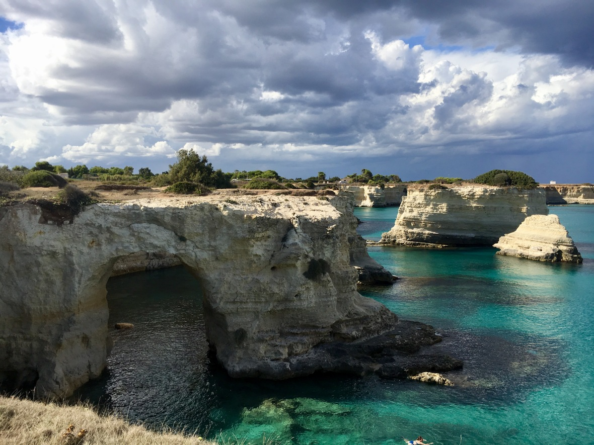 Lecce turquoise water
