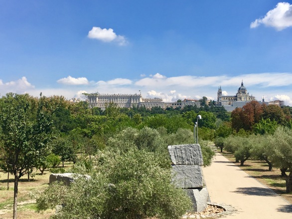 Madrid's Royal Palace and gardens