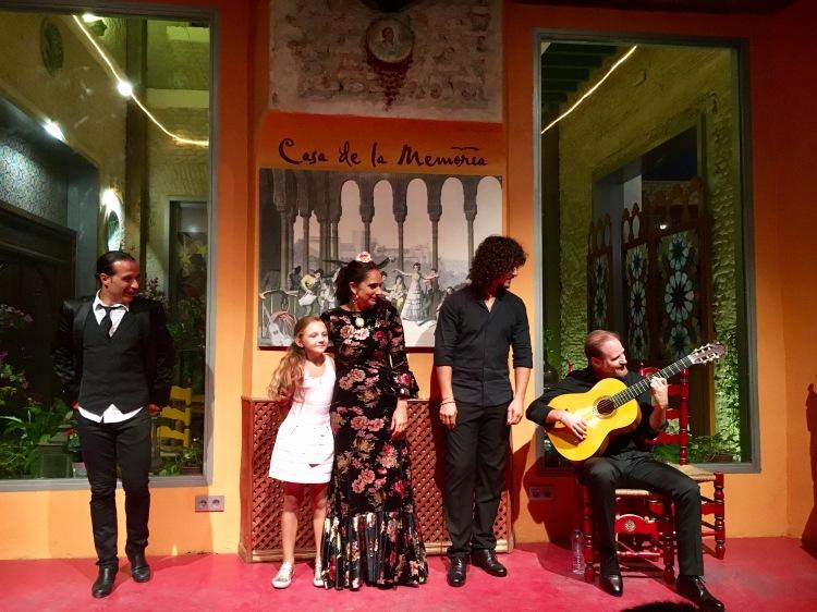 The amazing flamenco performers at Casa de la Memoria
