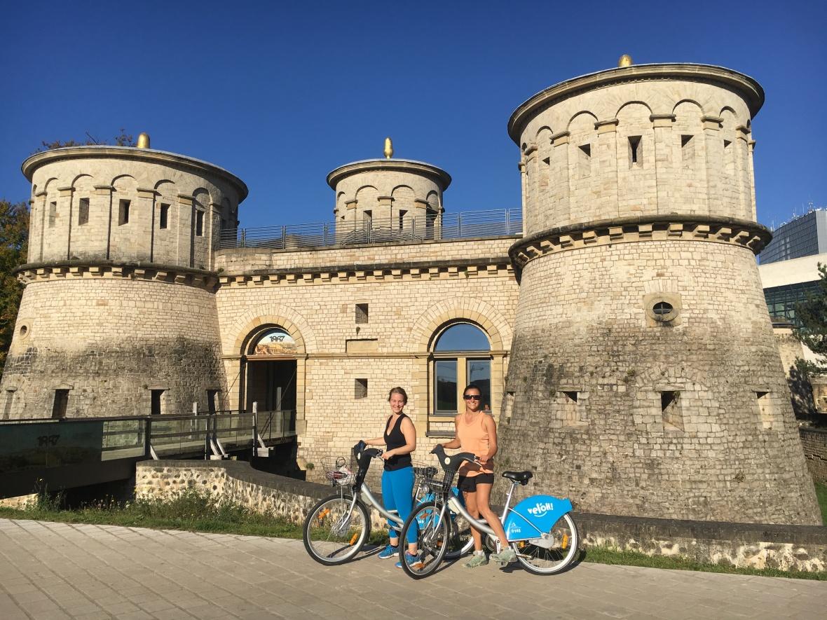 Luxembourg A & S biking