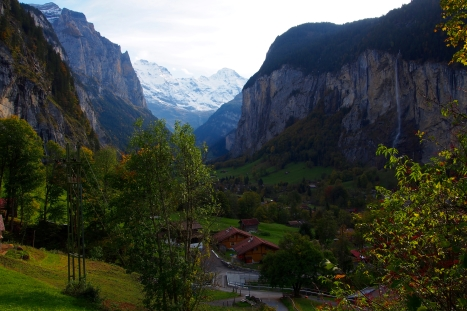 Lauterbrunnen's valley